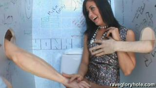 Jane Rave gloryhole