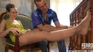 ANGELA Nylon FeetLine Herbert