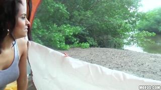 Abbey Lee Brazil (Rained Out Campers Film Sex Tape)