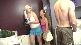 Hailey and Barbie Get Sprayed