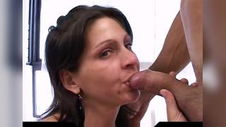 Filling Both Fuckholes For Hot Latina .