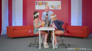 Nicole Aniston, Peta Jensen Game Night Shenanigans